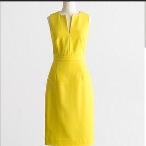 J.Crew split neck dress